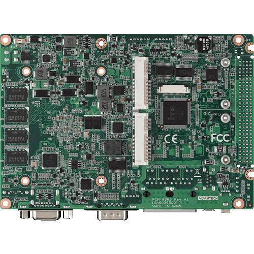 "PCM-9365 3.5"" SBC Bottom View"