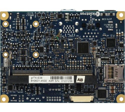 SBC-8106 SBC I-PTX Bottom View