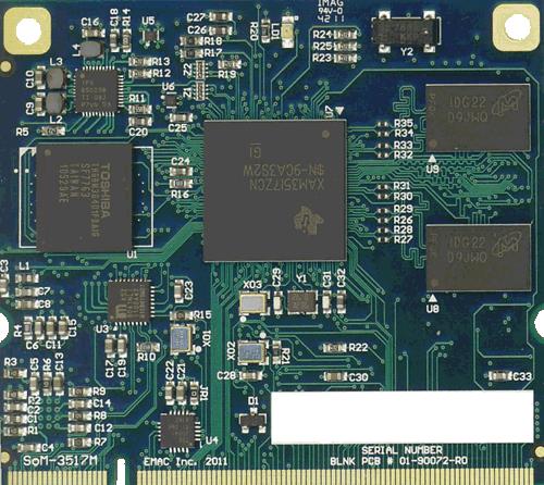 SoM-3517M Front